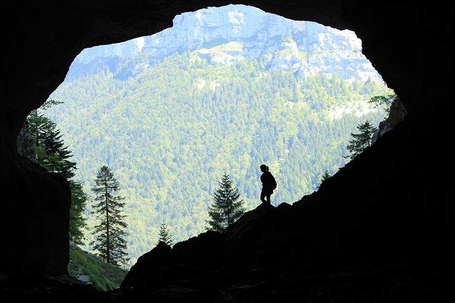 Grotte du Cirque de Saint-Même en Chartreuse