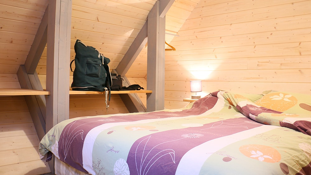 La chambre du Chalet Le Frenola en Chartreuse